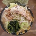 横浜家系ラーメン 力道家 - 料理写真:家二郎 麺大盛