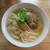 麺 㐂色 - 料理写真:ワンタン塩そば 麺大盛