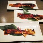 koshitsugyuutankaisennomihoudaitouhokushouten - 鮭の仙台味噌焼き。     2020.09.18