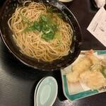 京和田 - 天婦羅蕎麦