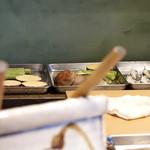 みかわ 是山居 - 2012.07.02:お好み野菜の仕込み