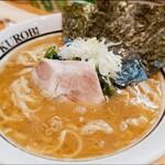 横浜家系ラーメン 黒帯 - 料理写真: