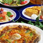 ビージーカフェ - ピザ食放題コース