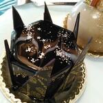 136896914 - ギャラクシー:チョココーティングの上の星空(ギャラクシー)がとってもオシャレ