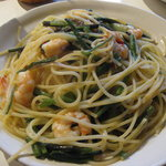 1369275 - 山菜とエビのペペロンチーノ