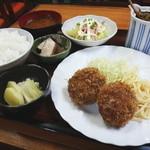 13690267 - メンチカツ定食