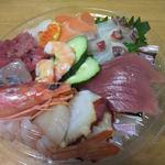 魚博 - 海鮮丼<上段>