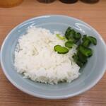 武蔵家 - 無料ライス