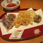 うさぎや - 「秋野菜の天ぷら」