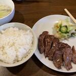 牛たん八 - 料理写真: