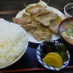 大衆食堂 まんだらや - 料理写真:豚バラ炒め定食