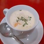 亀十料理店 - 本日のスープ