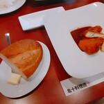 亀十料理店 - バケットとメイン