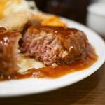 キッチン大正軒 - 煮込みハンバーグ