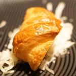 コグスダイニングカグラザカ - シチリア風ポテトサラダ フォアグラのフランと共に 自家製クロワッサン添え