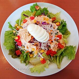 クレイトンハウス - 料理写真:菜園風スパゲッティ