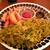 ワインバー・ケラケラ - 料理写真:パクチーのせ牛ステーキ¥1,350(別)