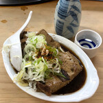 136917433 - 浦霞+牛肉豆腐