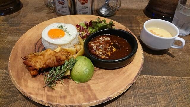 肉が旨いカフェ NICK STOCK msb Tamachi店の料理の写真