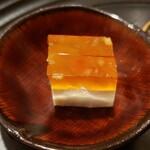 天廣堂 - ピータンとチーズのゼリー寄せ