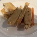 中国料理 桃李 - 蒸しズワイ蟹