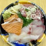タカマル鮮魚店 - 花盛丼