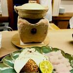 Momen - 鱧と松茸のしゃぶしゃぶ