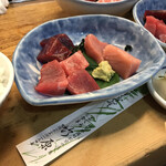 竹原 - マグロ定食のマグロです