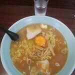 浙江亭 - 料理写真:ラーメン 大盛&生卵