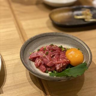 野菜巻きと沖縄炉端 炭島