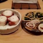 青空 - 佐島の蛸、味も香りも絶品中の絶品!お替りしました。