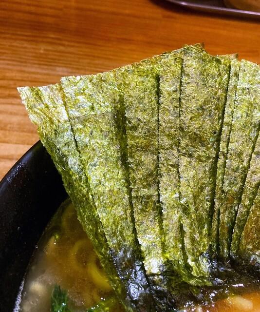 巓 - 海苔増しは6枚100円。