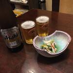 酔鯨亭 - 先ずはビールから