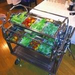 亜絲花 - 地野菜のサラダワゴンバイキング