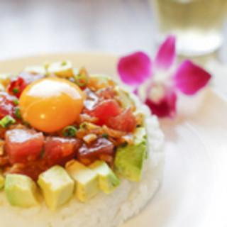 *南国ダイニング「ハナホウ」。沖縄料理とハワイアン料理。