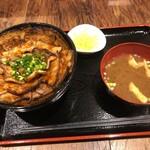 三◯食堂 - みそダレ豚丼(850円)