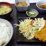 キッチン城 - 料理写真:朝定食(520円)