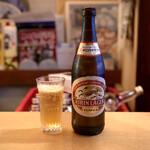 ざわさん - 瓶ビール・450円