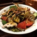 いたる - 加賀野菜の三楽菜サラダ