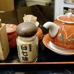 日本橋 やぶ久 - 薬味