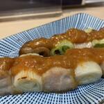 立飲み寿司 三浦三崎港 めぐみ水産 - ねぎま 二本