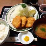 やなせ本店 - ひれかつ定食(並) 1490円
