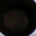 珈琲屋 デリカップ - 挽いた様子です