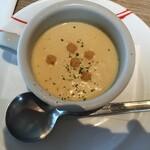 大田原 牛超 - 2枚メニューの冷製スープ(2020.9.6)