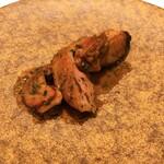 CELLIER - アワビ 仔牛 セップ茸