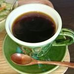 ケーキとコーヒーのお店 木音 - 本日の自家焙煎珈琲 タンザニア