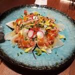 ボッテガ ニック - 鮮魚のカルパッチョ