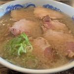 二丁目食堂 - 背脂肉ソバ¥1000
