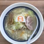 8番らーめん - 野菜ラーメン