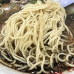 136963101 - 麺はストレートの細麺